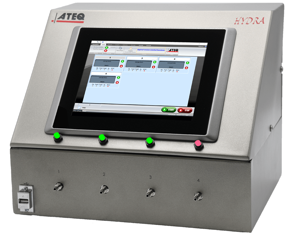 Leak Testing - Flow Testing - Leak Test Equipment - ATEQ
