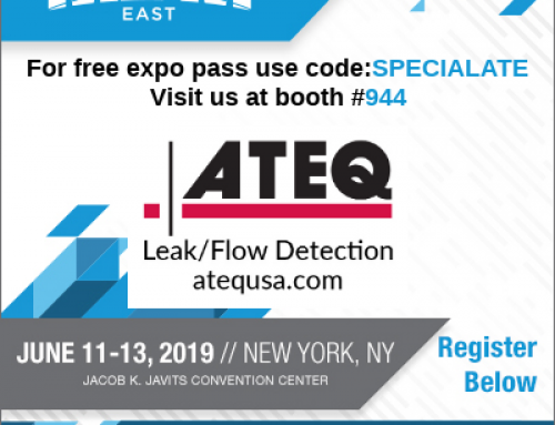 Free MD&M East Expo Pass-Visit ATEQ in NYC!